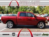 2012 Deep Cherry Red Crystal Pearl Dodge Ram 1500 Big Horn Crew Cab 4x4 #71274858