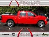 2012 Flame Red Dodge Ram 1500 Express Crew Cab 4x4 #71274857