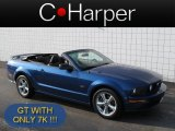 2006 Vista Blue Metallic Ford Mustang GT Premium Convertible #71275511