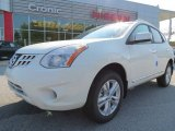 2013 Pearl White Nissan Rogue SV #71275197