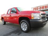 2011 Victory Red Chevrolet Silverado 1500 Extended Cab #71275190