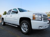 2012 Summit White Chevrolet Silverado 1500 LT Crew Cab #71275187