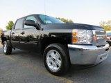 2013 Black Chevrolet Silverado 1500 LT Crew Cab #71275183