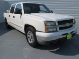 2006 Summit White Chevrolet Silverado 1500 LS Crew Cab #71275127