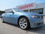 2008 Atlantic Blue Metallic BMW 3 Series 335i Convertible #71275106