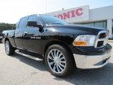 2012 Black Dodge Ram 1500 SLT Quad Cab #71275104