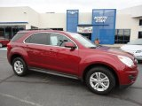 2010 Cardinal Red Metallic Chevrolet Equinox LT AWD #71275085