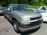2002 Light Pewter Metallic Chevrolet Silverado 1500 LS Extended Cab #71275084