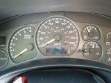 2002 Chevrolet Silverado 1500 LS Extended Cab Gauges