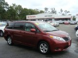 2011 Salsa Red Pearl Toyota Sienna LE #71275063
