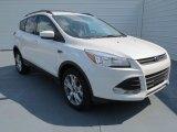 2013 White Platinum Metallic Tri-Coat Ford Escape SE 2.0L EcoBoost #71337341