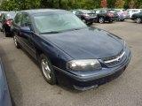 2001 Navy Blue Metallic Chevrolet Impala LS #71337801