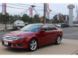 2010 Sangria Red Metallic Ford Fusion Sport #71337768