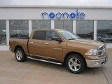 2011 Saddle Brown Pearl Dodge Ram 1500 Big Horn Crew Cab 4x4 #71337303