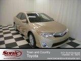 2012 Sandy Beach Metallic Toyota Camry XLE #71337522