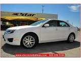 2010 White Platinum Tri-coat Metallic Ford Fusion SEL V6 #71337485