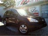 2008 Nighthawk Black Pearl Honda CR-V LX 4WD #71337721