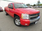 2007 Victory Red Chevrolet Silverado 1500 LT Extended Cab #71337394