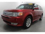 2010 Red Candy Metallic Ford Flex SEL #71337106