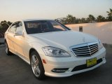 2013 Diamond White Metallic Mercedes-Benz S 550 Sedan #71383649
