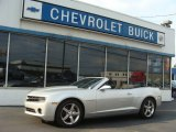 2012 Silver Ice Metallic Chevrolet Camaro LT Convertible #71383638