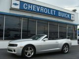 2012 Silver Ice Metallic Chevrolet Camaro LT Convertible #71383635