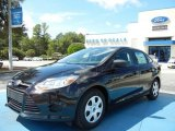 2013 Tuxedo Black Ford Focus S Sedan #71383620
