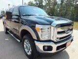 2012 Green Gem Metallic Ford F250 Super Duty Lariat Crew Cab 4x4 #71384193