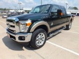 2012 Ford F250 Super Duty Green Gem Metallic