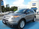 2013 Sterling Gray Metallic Ford Explorer XLT #71383616