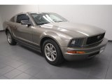 2005 Mineral Grey Metallic Ford Mustang V6 Deluxe Coupe #71383917