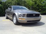 2005 Mineral Grey Metallic Ford Mustang V6 Deluxe Coupe #71384177