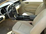 2005 Ford Mustang V6 Deluxe Coupe Medium Parchment Interior