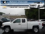 2013 Summit White Chevrolet Silverado 1500 LT Extended Cab 4x4 #71384172