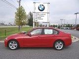 2013 Melbourne Red Metallic BMW 3 Series 328i Sedan #71383861