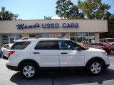 2011 White Suede Ford Explorer FWD #71383848