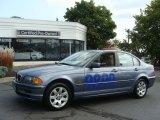2001 Steel Blue Metallic BMW 3 Series 325xi Sedan #71383535