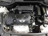 2007 Mini Cooper Hardtop 1.6 Liter DOHC 16V VVT 4 Cylinder Engine