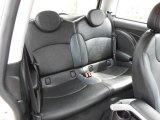 2007 Mini Cooper Hardtop Rear Seat