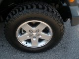 2011 Jeep Wrangler Rubicon 4x4 Wheel