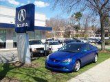 2006 Vivid Blue Pearl Acura RSX Type S Sports Coupe #7139045