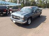 2007 Blue Granite Metallic Chevrolet Silverado 1500 Classic LT Crew Cab #71384057