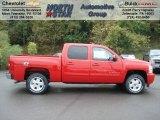 2013 Victory Red Chevrolet Silverado 1500 LT Crew Cab 4x4 #71383735