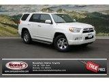 2013 Blizzard White Pearl Toyota 4Runner SR5 4x4 #71383420
