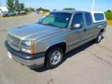 2003 Light Pewter Metallic Chevrolet Silverado 1500 Extended Cab #71384042