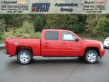 2013 Victory Red Chevrolet Silverado 1500 LT Crew Cab 4x4 #71383731
