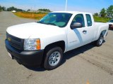 2013 Summit White Chevrolet Silverado 1500 Work Truck Extended Cab #71384032