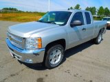 2013 Silver Ice Metallic Chevrolet Silverado 1500 LT Extended Cab 4x4 #71384028
