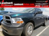2011 Hunter Green Pearl Dodge Ram 1500 ST Regular Cab #71383708