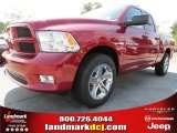 2012 Deep Cherry Red Crystal Pearl Dodge Ram 1500 Express Quad Cab #71383685